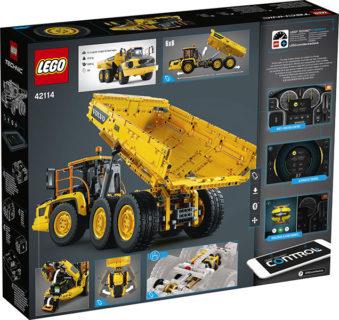 LEGO 42114 Technic – 6×6 Volvo Articulated Hauler