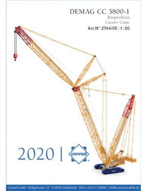 ***PREORDINE*** DEMAG CC 3800-1 Crawler Crane – CONRAD 2744/05