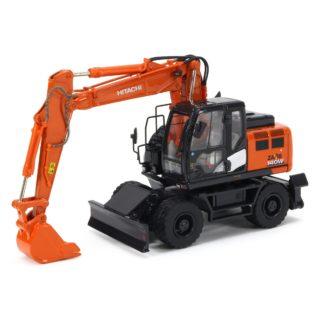 Scale ZX140W-6 Hydraulic wheeled excavator – HITACHI – 1:50