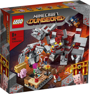 LEGO 21163 Minecraft – La battaglia della pietrarossa