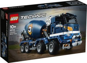 LEGO 42112 Technic – Betoniera