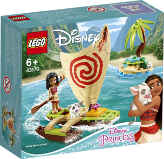 LEGO 43170 Disney Princess – Avventura sull'oceano di Vaiana