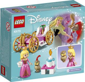 LEGO 43173 Disney Princess – La carrozza reale di Aurora