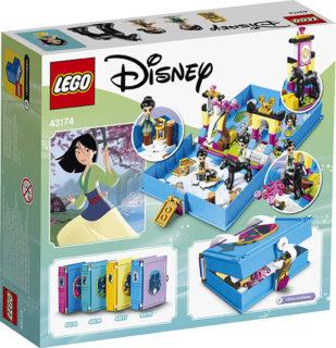 LEGO 43174 Disney Princess – Il libro delle fiabe di Mulan