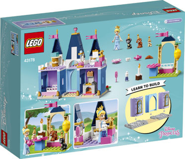 LEGO 43178 Disney Princess – La festa al castello di Cenerentola