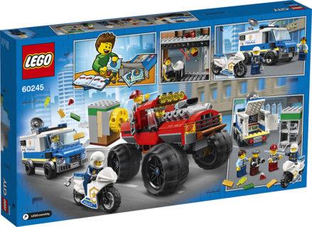 LEGO 60245 LEGO City Police – Rapina sul Monster Truck