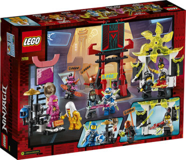 LEGO 71708 Ninjago – Il Mercato dei Ninja Gamers