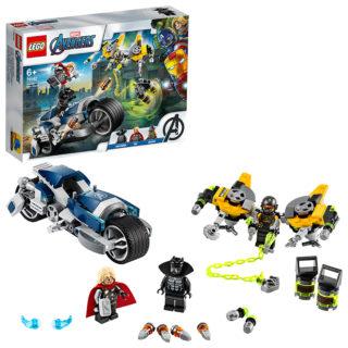 LEGO 76142 Super Heroes Marvel Avengers – Attacco della Speeder Bike