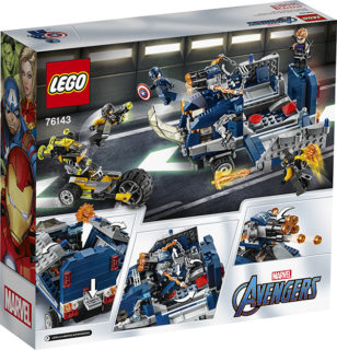LEGO 76143 Super Heroes Marvel Avengers – Attacco del camion