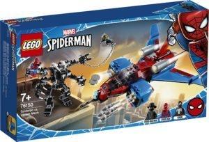 LEGO 76150 Super Heroes Marvel – Spiderjet Vs Mech Venom