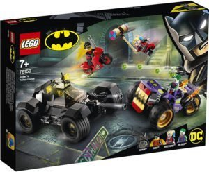 LEGO 76159 Super Heroes DC Comics – All'inseguimento del tre-ruote di Joker