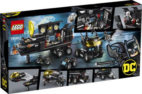 LEGO 76160 Super Heroes DC Comics – Bat-base mobile