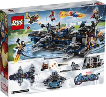 LEGO 76153 Super Heroes Marvel Avengers – Helicarrier degli Avengers
