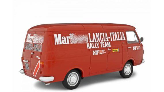 LAUDORACING – FIAT – 238 FURGONE VAN 1S ASSISTANCE LANCIA RALLY TEAM 1970