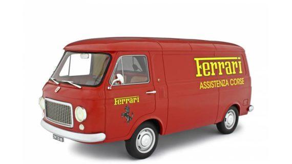 LAUDORACING – FIAT – 238 FURGONE VAN 1S ASSISTANCE FERRARI CORSE TEAM 1973