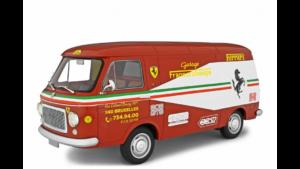 LAUDORACING – FIAT – 238 FURGONE VAN 1S ASSISTANCE FERRARI GARAGE FRANCORCHAMPS 1972