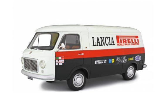 LAUDORACING – FIAT – 238 FURGONE VAN 1S ASSISTANCE LANCIA RALLY 1970