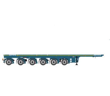Sarens Nooteboom 6 axle ballast trailer – Imc – 1:50- 20-1057