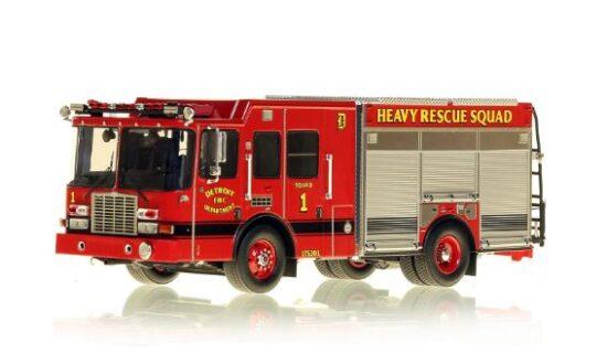 *** SU ORDINAZIONE *** DISPONIBILE DA OTT/NOV 2020 – SERIE LIMITATA 50 PZ. – DETROIT FIRE DEPARTMENT HME HEAVY RESCUE SQUAD 1 – NZG – 1:50 – VFR080-1