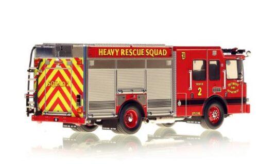 *** SU ORDINAZIONE *** DISPONIBILE DA OTT/NOV 2020 – SERIE LIMITATA 40 PZ. – DETROIT FIRE DEPARTMENT HME HEAVY RESCUE SQUAD 2 – NZG – 1:50 – VFR080-2