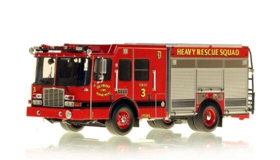 *** SU ORDINAZIONE *** DISPONIBILE DA OTT/NOV 2020 – SERIE LIMITATA 40 PZ. – DETROIT FIRE DEPARTMENT HME HEAVY RESCUE SQUAD 3 – NZG – 1:50 – VFR080-3
