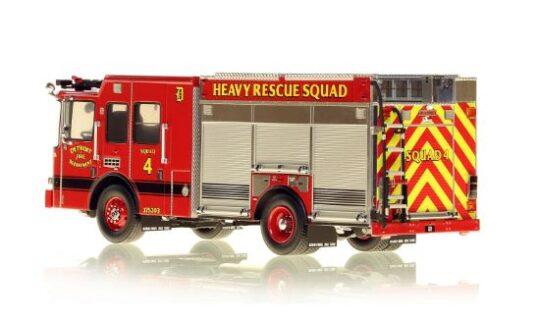 *** SU ORDINAZIONE *** DISPONIBILE DA OTT/NOV 2020 – SERIE LIMITATA 40 PZ. – DETROIT FIRE DEPARTMENT HME HEAVY RESCUE SQUAD 4 – NZG – 1:50 – VFR080-4