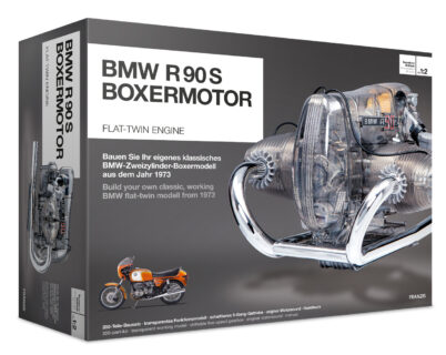 ***SUPER SCONTO*** FRANZIS 67009 – BMW R90 S-Boxermotor / Flat-Twin Motorcycle Engine – KIT 1/2