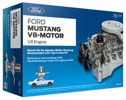 Franzis 67500 – 1:3 Ford Mustang V8-Engine
