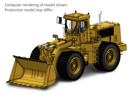 ***PREORDINE*** Cat® 988B Wheel Loader Beadless Tire Version – CCM MODELS – 1/48 –