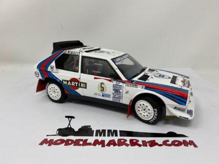 AUTOART – LANCIA – DELTA S4 MARTINI N 5 WINNER RALLY ARGENTINA 1986 BIASION – SILVIERO