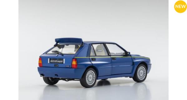 ***PREORDINE*** Lancia Delta HF Evo II 1994 Blue Lagos – kyosho – KY8343BL