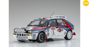 ***NEWS*** KYOSHO – LANCIA – DELTA HF INTEGRALE EVOLUZIONE MARTINI (night version) N 5 RALLY Sanremo 1992 – Aghini – Farnocchia