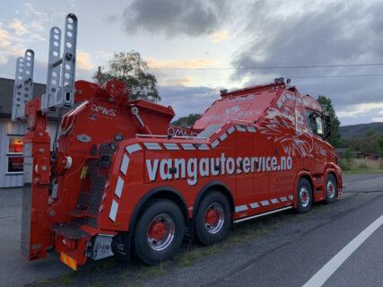 Vang Auto-Service AS; VLASTUIN TORPEDO 8X4 RESIN WRECKER 'OMARS' – WSI – 01-3212