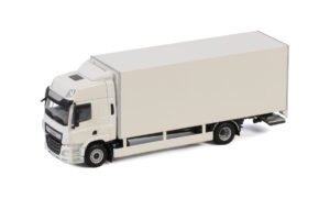 White Line; DAF CF SPACE CAB MY2017 4X2 RIGED TRUCK BOX – 2 AXLE – WSI – 1:50 – 03-2031