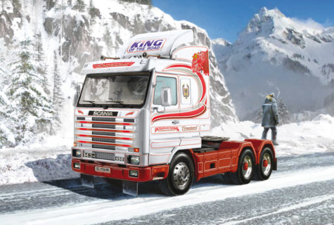 ITALERI 3944 1:24 Scania Streamline 143H 6×2