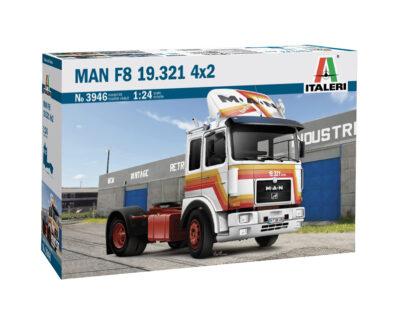 ITALERI 3946 1:24 MAN F8 19.321 4×2