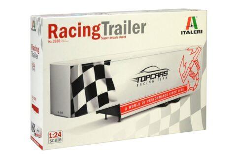 ITALERI 3936 RACING TRAILER KIT 1:24