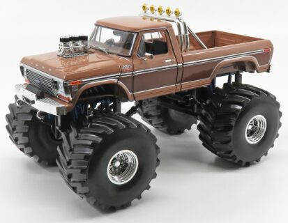 GREENLIGHT – FORD USA – F-350 BFT BIGFOOT MONSTER TRUCK 1975 – 2 TONE BROWN – 13557 – 1:18
