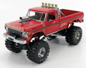 GREENLIGHT – FORD USA – F-250 PICK-UP BIGFOOT MONSTER TRUCK 1979 – RED MET – 13542 – 1:18