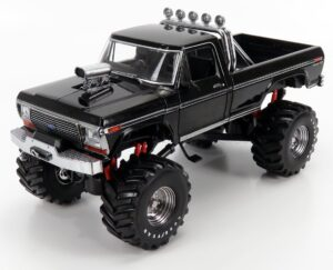 GREENLIGHT – FORD USA – F-250 PICK-UP BIGFOOT MONSTER TRUCK 1979 – BLACK – 13538 – 1:18