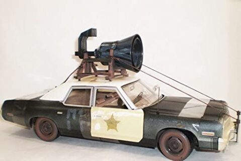 ERTL – DODGE – MONACO BLUESMOBILE WITH THE HORN ON THE ROOF 1980 – THE BLUES BROTHERS