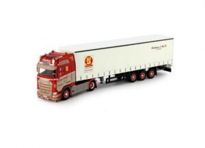 Tekno – Fisotrans Scania NGS Curtainside Trailer – 74618 – limited edition