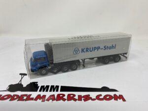 Krupp – Brekina SF380 – 1/87 – Krupp SF380 * Krupp * Containertrailer –