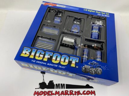 GMP – ACCESSORIES – SET OFFICINA GARAGE TOOL SET BIGFOOT MONSTER TRUCK
