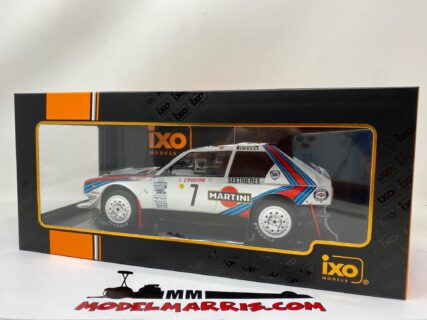 IXO-MODELS – LANCIA – DELTA S4 N 7 WINNER RALLY MONTECARLO 1986 H.TOIVONEN – S.CRESTO