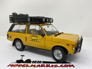ALMOST-REAL – LAND ROVER – RANGE N 0 RALLY CAMEL TROPHY 1981