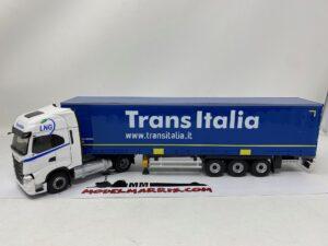 ELIGOR – IVECO FIAT – S-WAY S460 TRUCK TELONATO TRANS ITALIA TRANSPORTS 2019