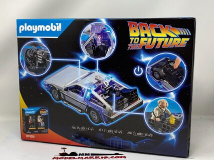 Playmobil – Delorean BACK TO FUTURE – 70317 – Ritorno al futuro