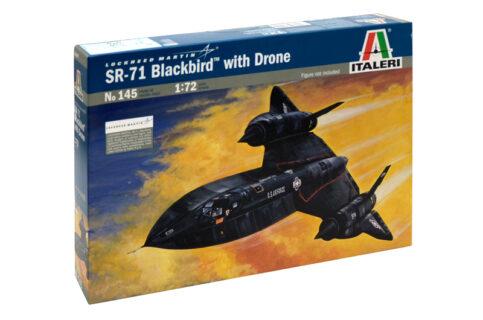 ITALERI – LOCKHEED MARTIN – SR-71 BLACKBIRD WITH DRONE 1968