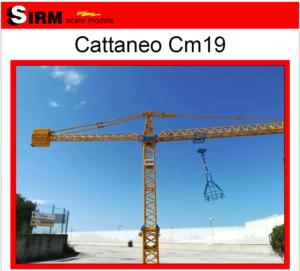 Cattaneo Cm19 – Sirm Scale Models – 1/50 – Su ordinazione Giallo / Blu / Verde – serie limitata ed esclusiva